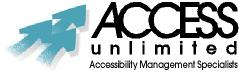 ACCESS Unlimited Logo Three Arrows and Name